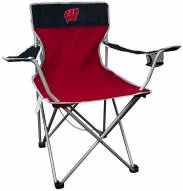 Wisconsin Badgers Rawlings Kickoff Quad Folding Chair