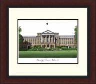 Wisconsin Badgers Legacy Alumnus Framed Lithograph