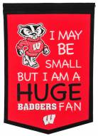 Wisconsin Badgers Lil Fan Traditions Banner