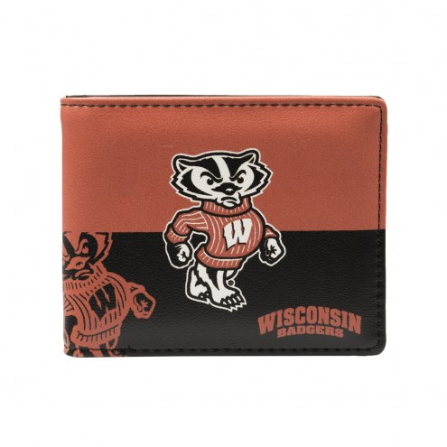 Wisconsin Badgers Bi-Fold Wallet