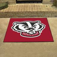 Wisconsin Badgers Logo All-Star Mat