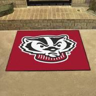 Wisconsin Badgers Logo All-Star Mat