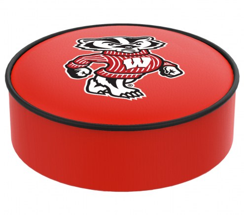 Wisconsin Badgers Logo Bar Stool Seat Cover