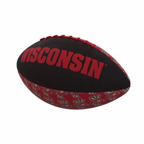 Wisconsin Badgers Mini Rubber Football