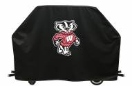 Wisconsin Badgers NCAA Logo Grill Cover
