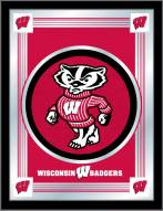 Wisconsin Badgers Logo Mirror
