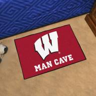 Wisconsin Badgers Man Cave Starter Mat