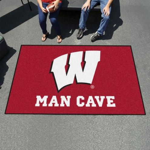 Wisconsin Badgers Man Cave Ulti-Mat Rug