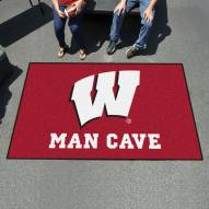 Wisconsin Badgers Man Cave Ulti-Mat Rug
