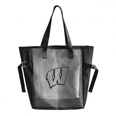 Wisconsin Badgers Mesh Tailgate Tote