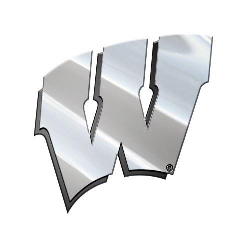Wisconsin Badgers Metal Car Emblem