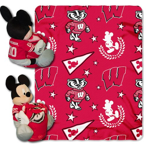 Wisconsin Badgers Mickey Mouse Hugger