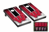 Wisconsin Badgers Mini Cornhole Set