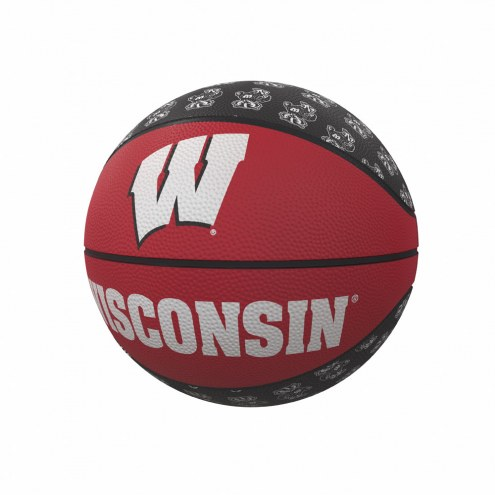 Wisconsin Badgers Mini Rubber Basketball