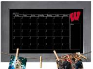 Wisconsin Badgers Monthly Chalkboard with Frame
