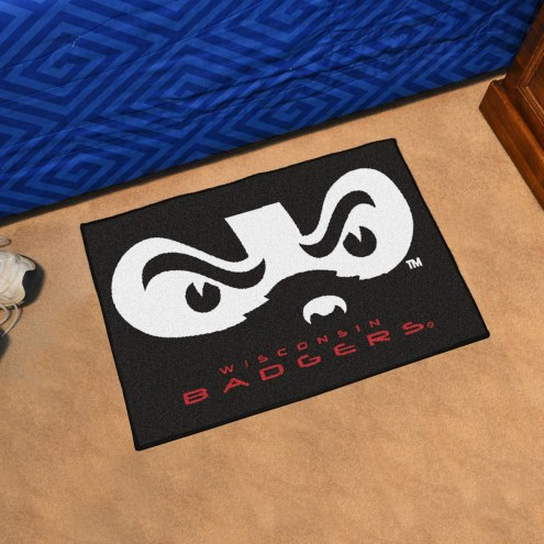 Wisconsin Badgers NCAA Starter Rug