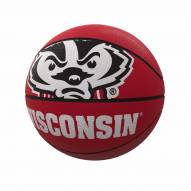 Wisconsin Badgers Official Size Rubber Basketball