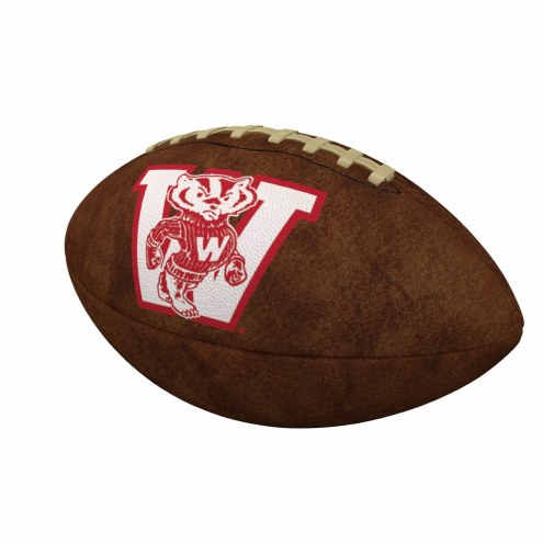 Wisconsin Badgers Official Size Vintage Football