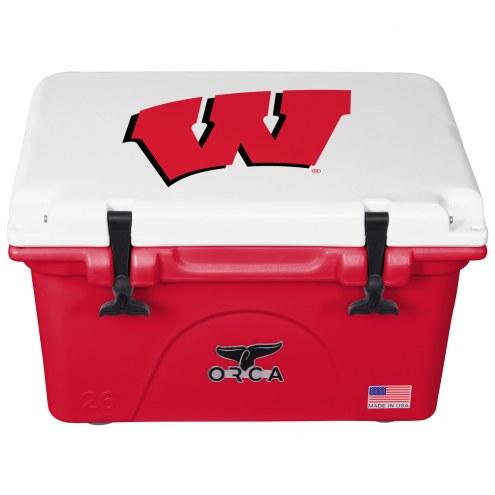 Wisconsin Badgers ORCA 26 Quart Cooler