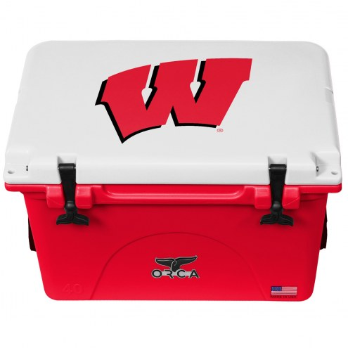 Wisconsin Badgers ORCA 40 Quart Cooler