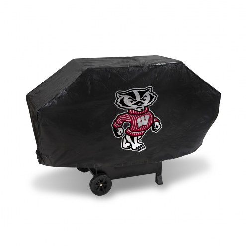 Wisconsin Badgers Padded Grill Cover