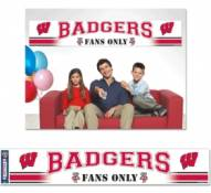 Wisconsin Badgers Party Banner