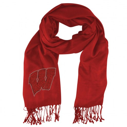 Wisconsin Badgers Pashi Fan Scarf