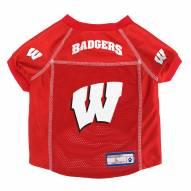 Wisconsin Badgers Pet Jersey