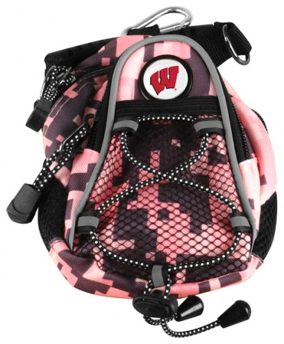 Wisconsin Badgers Pink Digi Camo Mini Day Pack