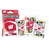 Wisconsin Badgers Playing Cards