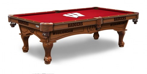 Wisconsin Badgers Pool Table