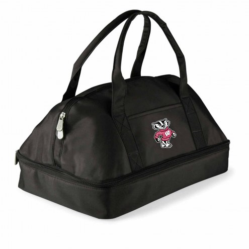 Wisconsin Badgers Potluck Casserole Tote
