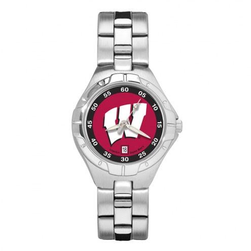 Wisconsin Badgers Pro II Women's Bracelet Watch