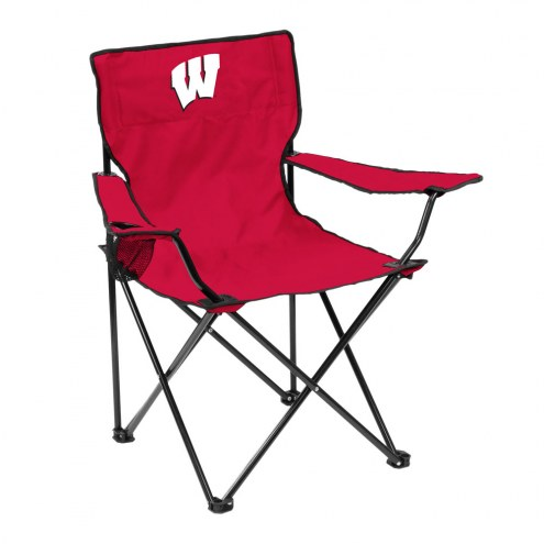 Wisconsin Badgers Quad Folding Chair