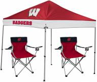 Wisconsin Badgers Rawlings Canopy Tent & Chair Set