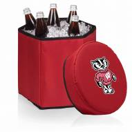 Wisconsin Badgers Red Bongo Cooler