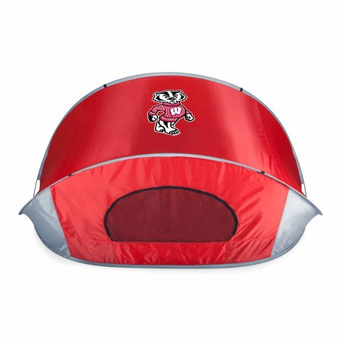 Wisconsin Badgers Red Manta Sun Shelter