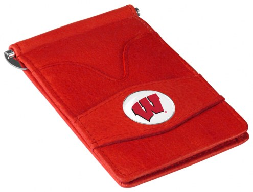 Wisconsin Badgers Red Player's Wallet