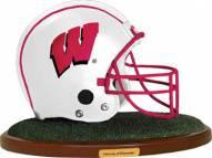 Wisconsin Badgers Collectible Football Helmet Figurine