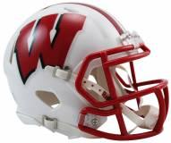 Wisconsin Badgers Riddell Speed Mini Collectible Football Helmet