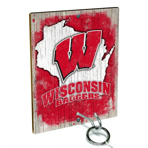 Wisconsin Badgers Ring Toss Game