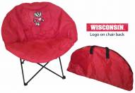 Wisconsin Badgers Rivalry Round Chair