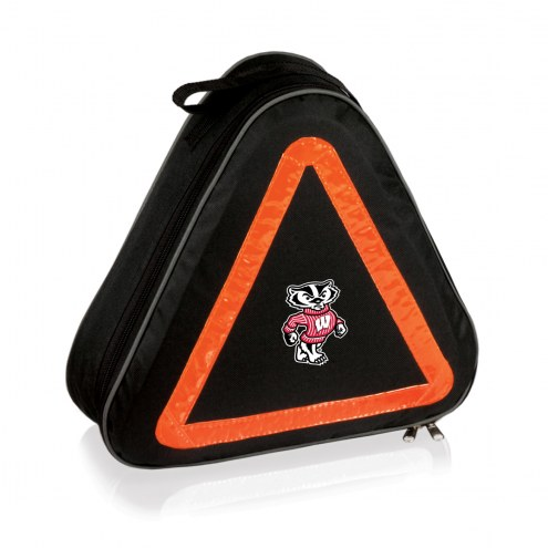 Wisconsin Badgers Roadside Emergency Kit