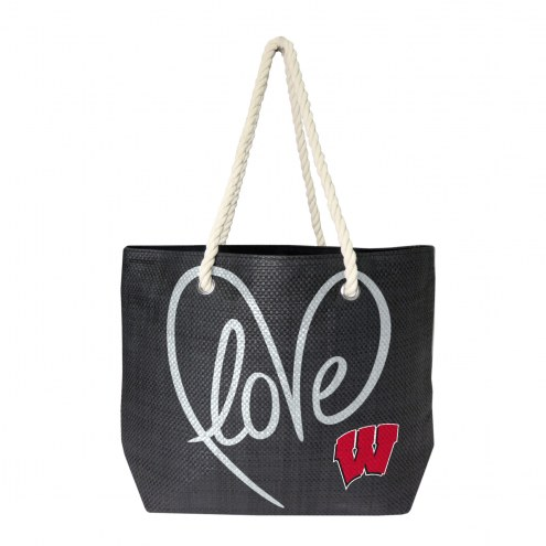Wisconsin Badgers Rope Tote