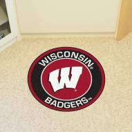 Wisconsin Badgers Rounded Mat