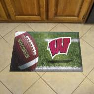 Wisconsin Badgers Scraper Door Mat