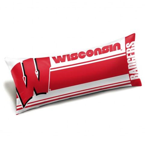 Wisconsin Badgers Body Pillow