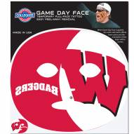Wisconsin Badgers Set of 4 Game Day Faces