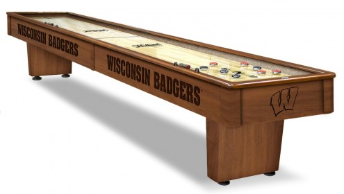 Wisconsin Badgers Shuffleboard Table