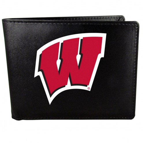 Wisconsin Badgers Large Logo Bi-fold Wallet